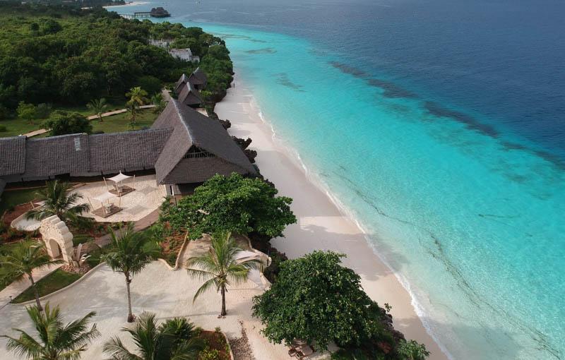 Rajskie plaże Zanzibaru